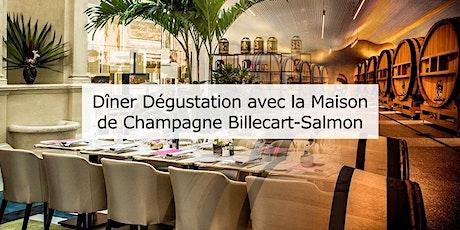 Diner Dégustation - Champagne Billecart-Salmon billets