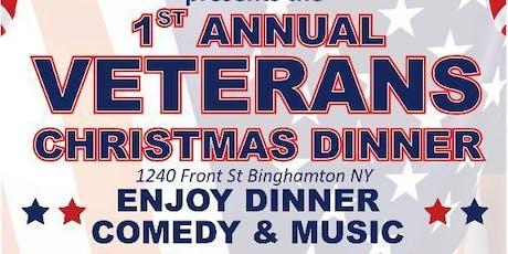 1st Annual Veterans Christmas Dinner tickets