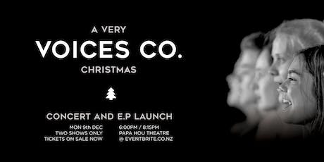A Very Voices Co. Christmas / Concert & E.P Launch (8:15pm) tickets