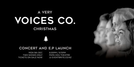 A Very Voices Co. Christmas / Concert & E.P Launch (8:15pm)