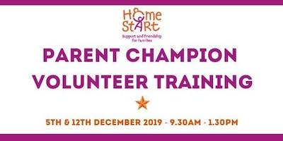 Parent Champion Volunteer Training