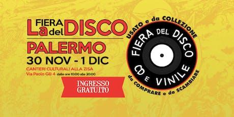 Fiera del Disco di Palermo biglietti