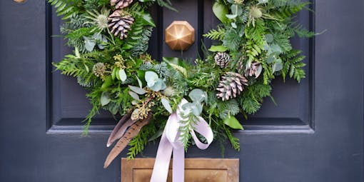 Christmas Wreath Workshop at The Factory, East London