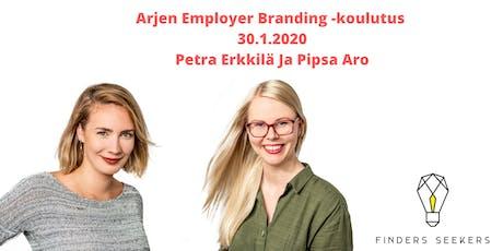 Arjen Employer Branding -koulutus 30.1.2020 tickets