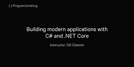 Building modern applications with C# and .NET Core - 21-24 September 2020 tickets