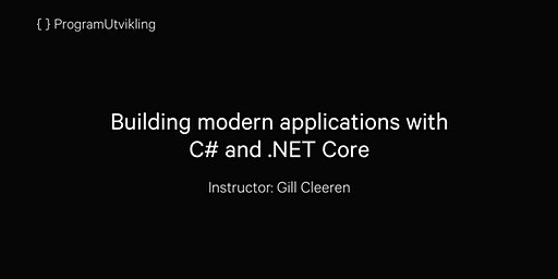 Building modern applications with C# and .NET Core - 21-24 September 2020
