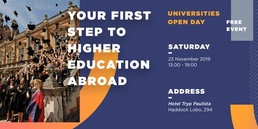 UNIVERSITIES OPEN DAY: Your first step to a Higher Education abroad!