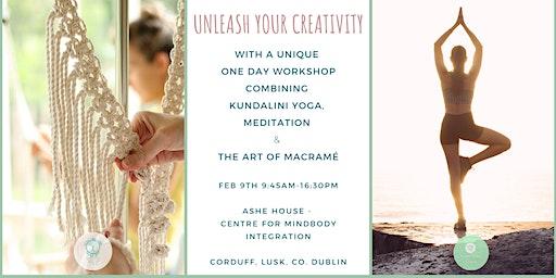 Unleash Your Creativity - Yoga & Macrame Workshop