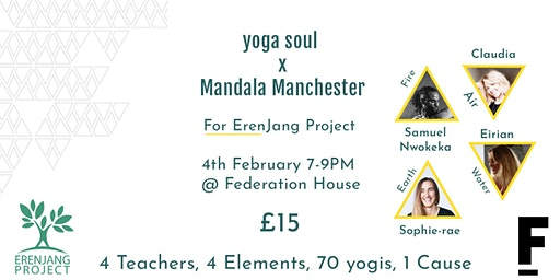 yoga soul presents Mandala Manchester for Erenjang Project