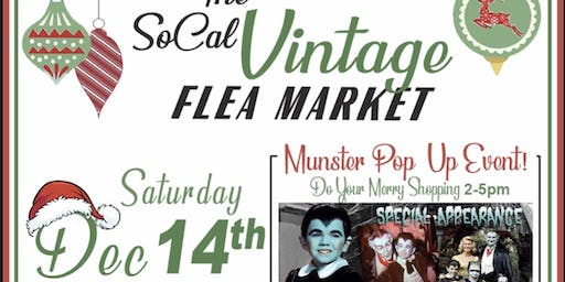 SoCal Winter Vintage Flea Market with Munster Celebrity