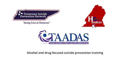 Alcohol and Drug Question, Persuade, Refer (QPR) Training