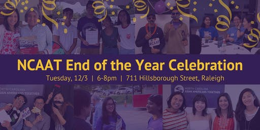 NC Asian Americans Together End-of-Year Celebration