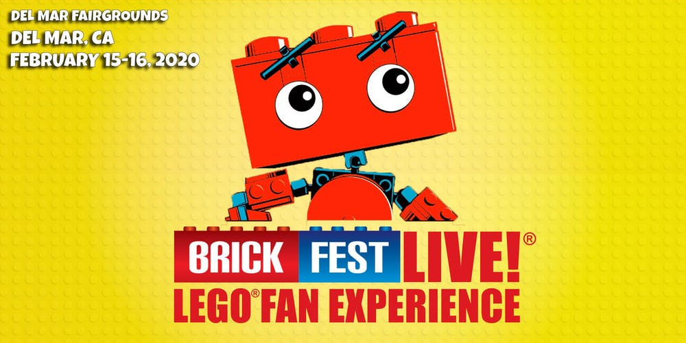 How Many People At Del Mar Fair 2020.Brick Fest Live Lego Fan Experience San Diego Ca Tickets