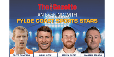 An Evening with Fylde Coast Sports Stars