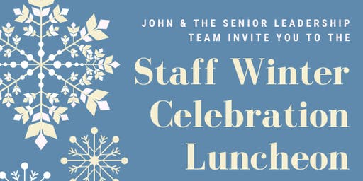 Lutherwood Staff Winter Celebration Luncheon