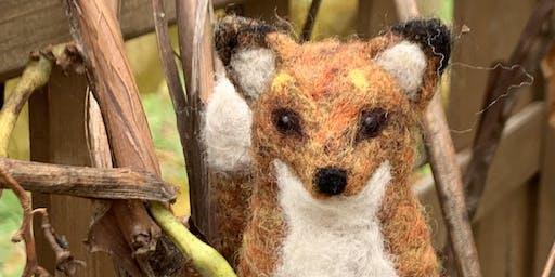 Fall & Felting: Needle Felted Fox