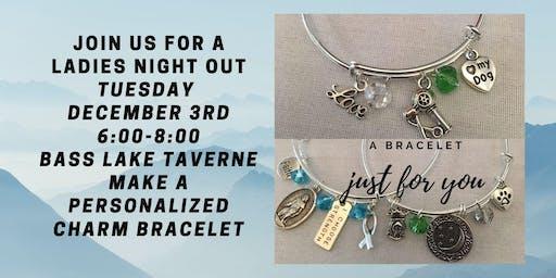 Ladies Night Out at Bass Lake Taverne - Make a Charm Bracelet