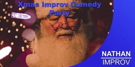 Xmas Improv Comedy Party tickets