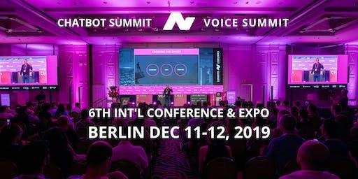 6th International Chatbot Summit - STATION-Berlin, December 2019