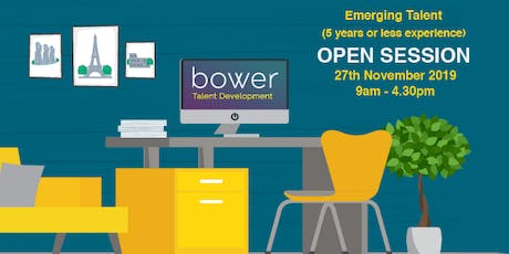 Emerging Talent - Open Session tickets