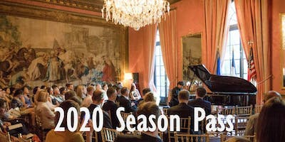 2020 Season Pass - Four Recitals and Receptions