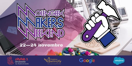 MolenGeek Makers Weekend — Creation d'objets tech DIY