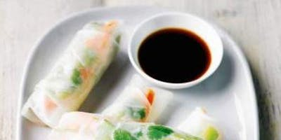 Waitrose Cookery School - Vietnamese spring rolls (V) 27 NOV