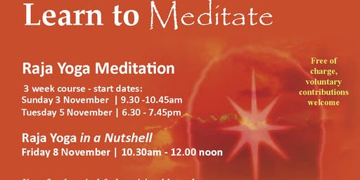 Raja Yoga Meditation Course