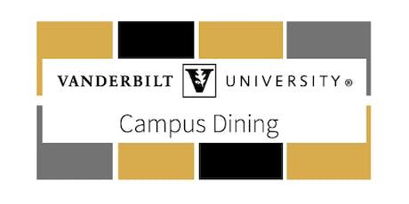 Vanderbilt University Campus Dining Walk-in Hiring Event tickets