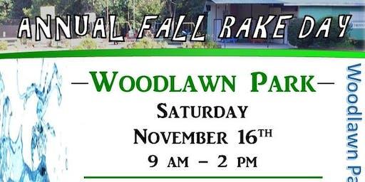 Rake Day at Woodlawn Park