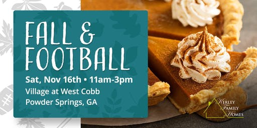 Fall & Football Event | Village at West Cobb