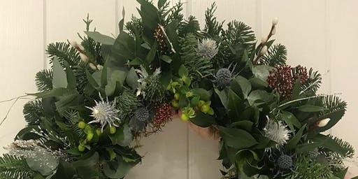 Festive Wreath Workshop - Evesham