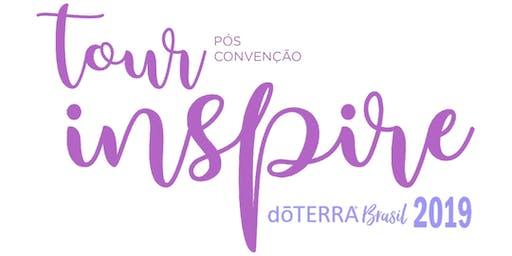 Curitiba - Tour Pós Convenção doTERRA Brasil Inspire 2019