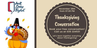 English Conversation: Thanksgiving day