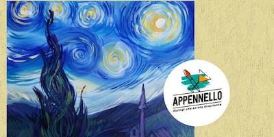 Stelle e Van Gogh: aperitivo Appennello ad Ancona