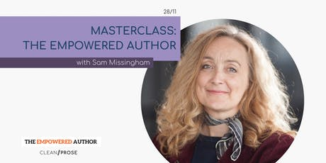 Masterclass: The Empowered Author with Sam Missingham tickets