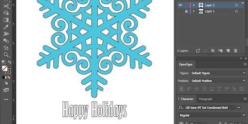Using Adobe Illustrator to Draw Custom Holiday Cards