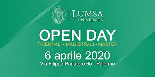 Open Day di Orientamento - Università LUMSA a Palermo