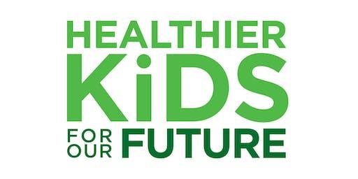 Healthier Kids Food Packing with Woodstock Middle School Children