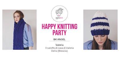 Knitting Party - Alexa Scarf e Striped Beanie - Dello (BS)