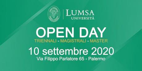 Open Day di Orientamento - Università LUMSA  a Palermo biglietti