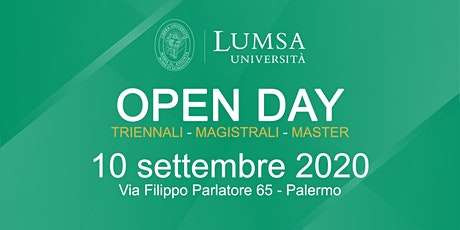 Open Day di Orientamento - Università LUMSA  a Palermo tickets