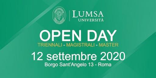 Open Day di Orientamento - Università LUMSA