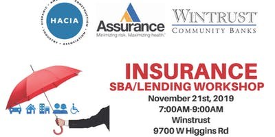 SBA Business & Construction Industry Loan Program and Insurance