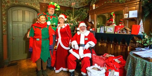 Sold out - Visit Father Christmas at Wightwick Manor-Saturday 14 December
