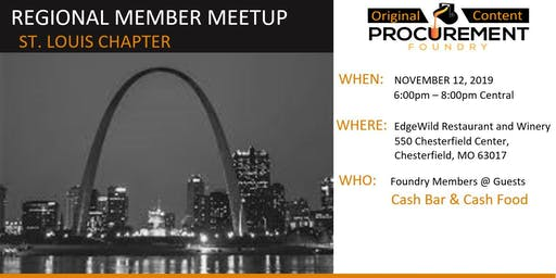 St Louis Member Meetup November -2019