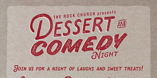 Dessert & Comedy Theatre Night with Kristin Weber & Brad Stine