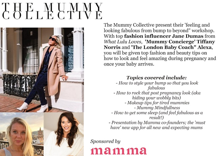 How to Look  and Feel Fabulous from Bump to Beyond image