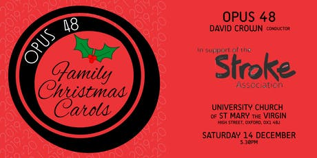 Opus 48 Family Christmas Carols tickets