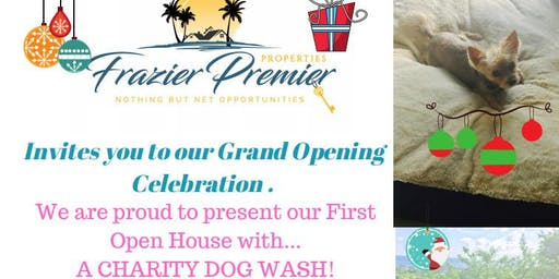 Frazier Premier Properties Grand Opening & Charity Dog Wash
